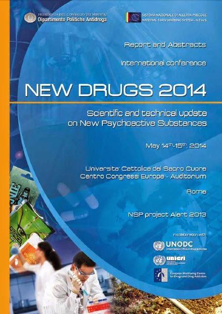 """La brochure istituzionale de Congresso Internazionale """"New Drugs 2014"""""""