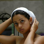 Hot South Indian Actress in Towel