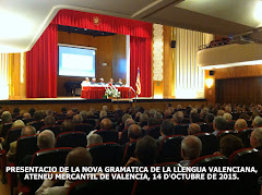 14.10.15 RACV, PRESENTACIO DE LA NOVA GRAMATICA DE LA LLENGUA VALENCIANA