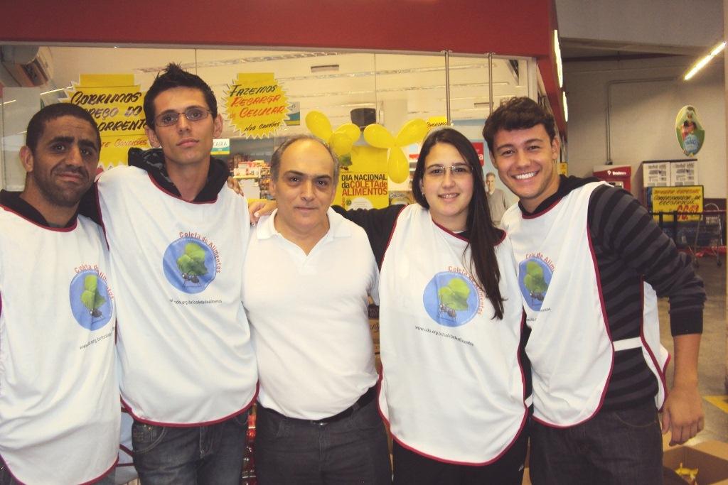 Curso de Ciências Biológicas do UNIFESO participa do Dia Nacional de Coleta de Alimentos