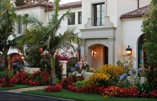 fotos de jardin frente de casas
