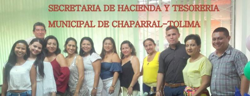 SECRETARIA DE HACIENDA Y TESORERIA MUNICIPAL DE CHAPARRAL TOLIMA