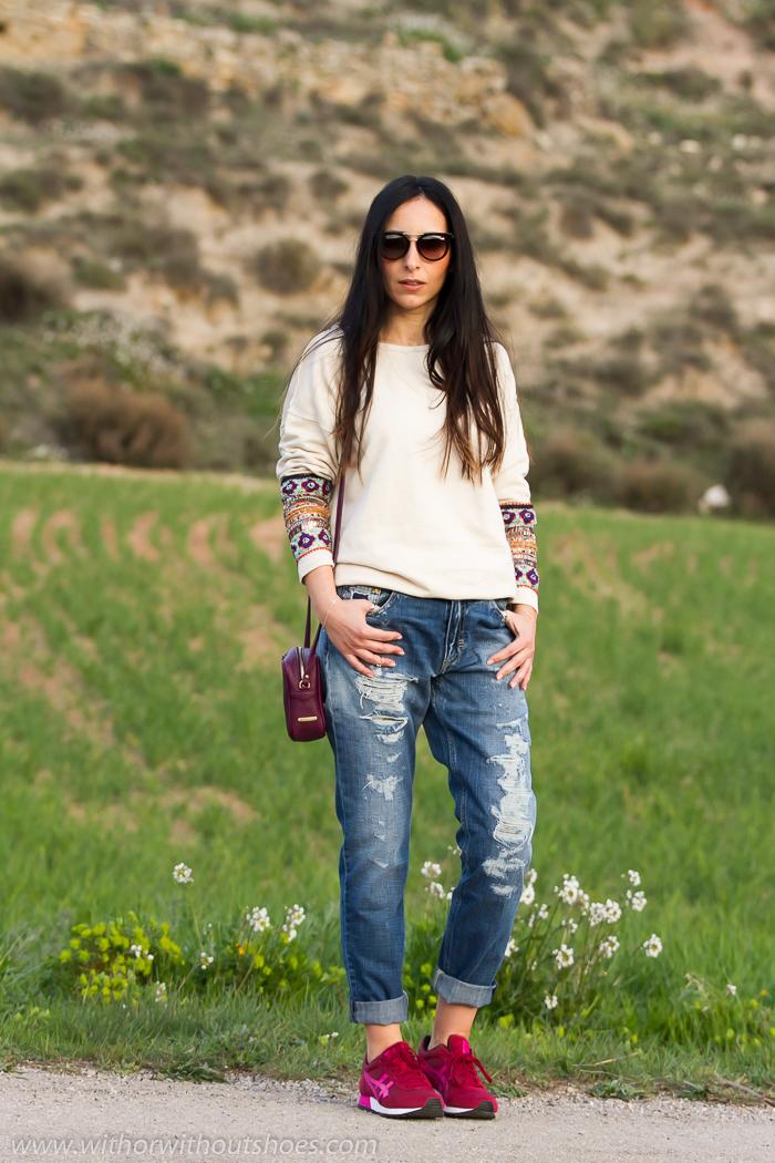 Blogger valenciana con estilo deportivo comodo