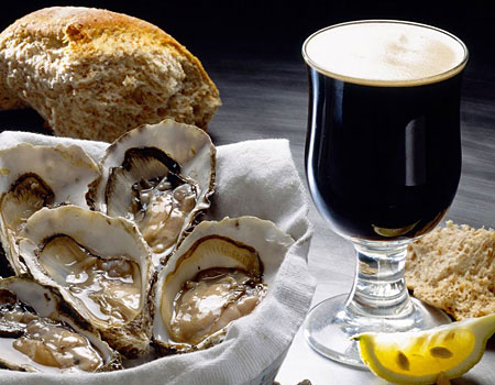 Oyster Stout. As in, Stout with Oysters in it... - Eating isn't Cheating