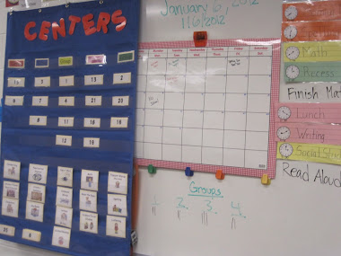 Centers, calendar and schedule