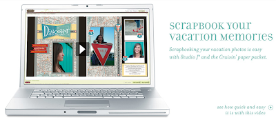 how to scrapbook your vacation photos in studio j online scrapbooking