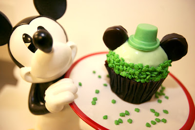 St Patrick's Day Cupcake, Disney's Hollywood Studios, Focused on the Magic