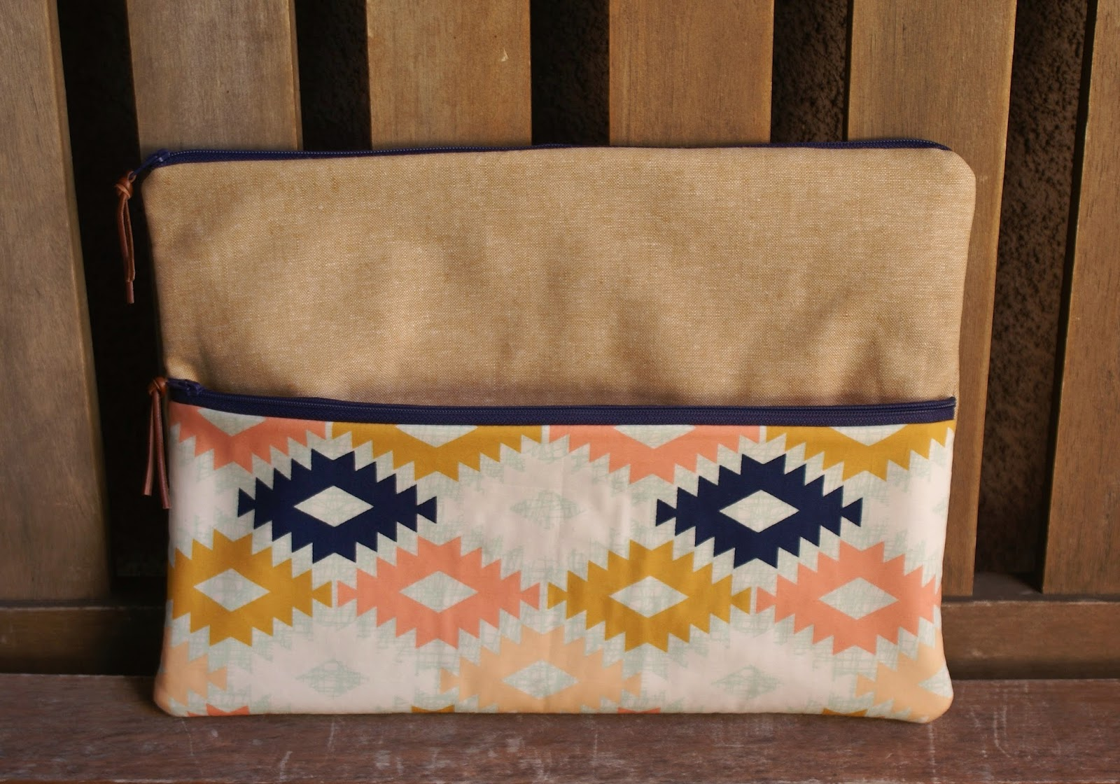 Agave Clutch Tutorial by Fabric Mutt featuring Arizona for Art Gallery Fabrics