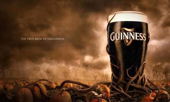 publicidad, Halloween, 2013, Gunness Bier