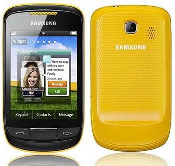 Harga dan Spesifikasi Lengkap HP Samsung S3850 Corby II