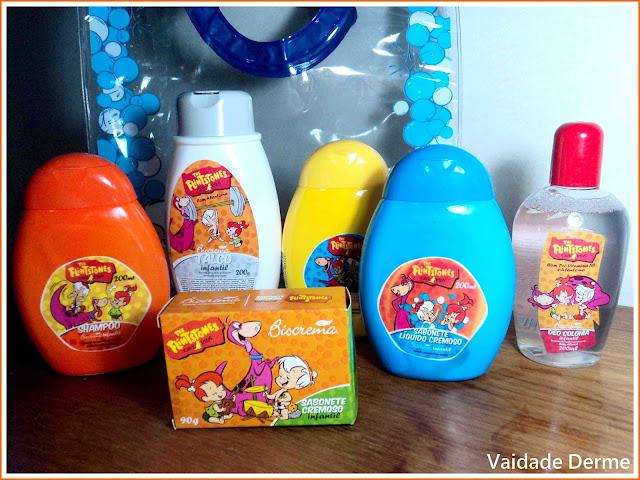 Linha Kids de Cosméticos The Flintstones da Biocrema