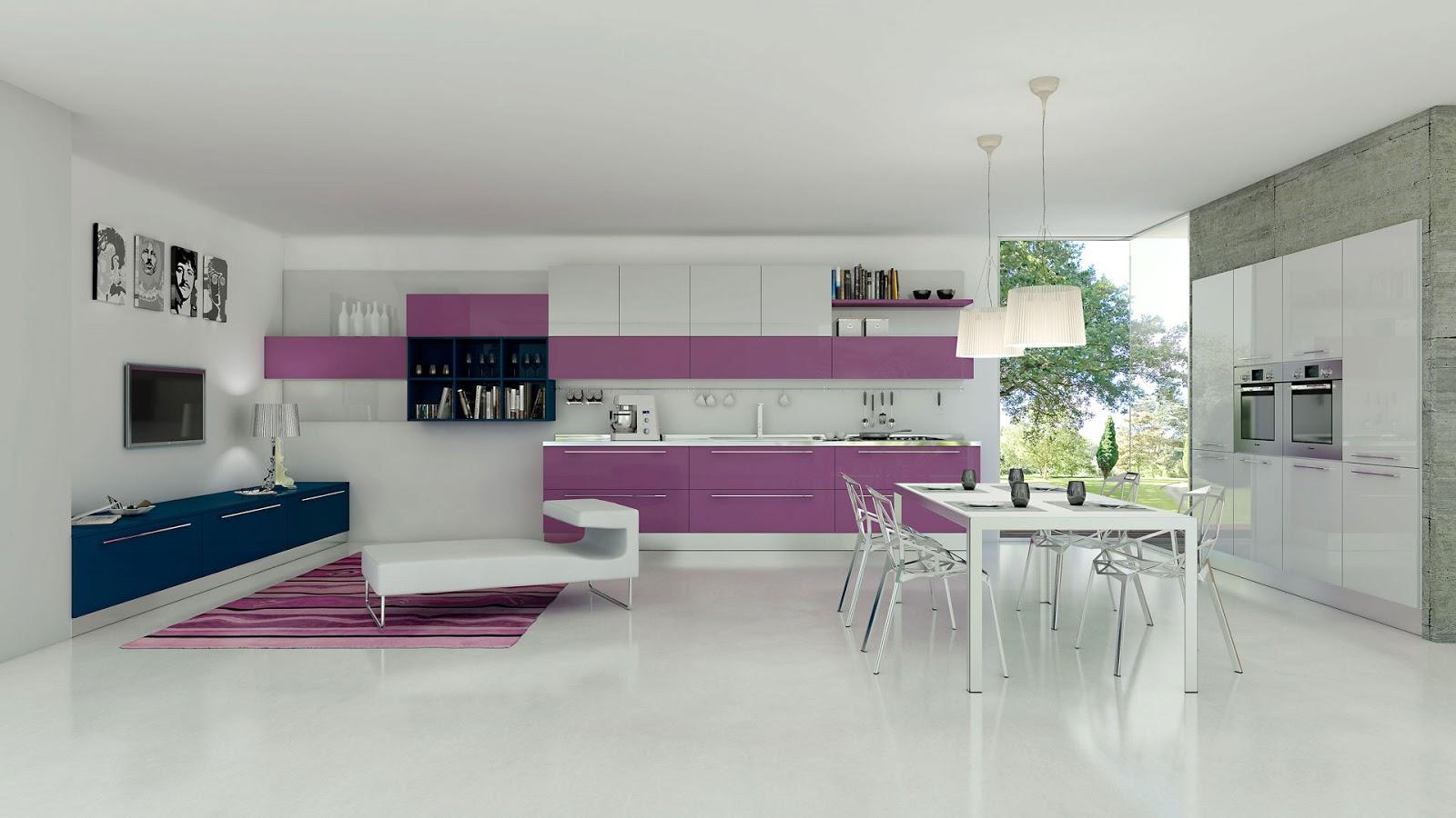 C mo distribuir el espacio en la cocina cocinas con estilo for Sala de estar y cocina