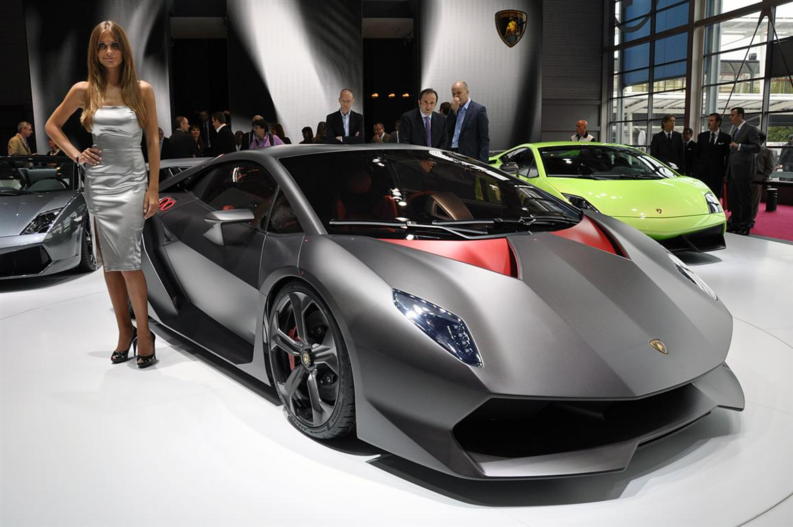 cars showroom lamborghini sesto elemento. Black Bedroom Furniture Sets. Home Design Ideas