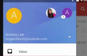 usare gmail con altri account