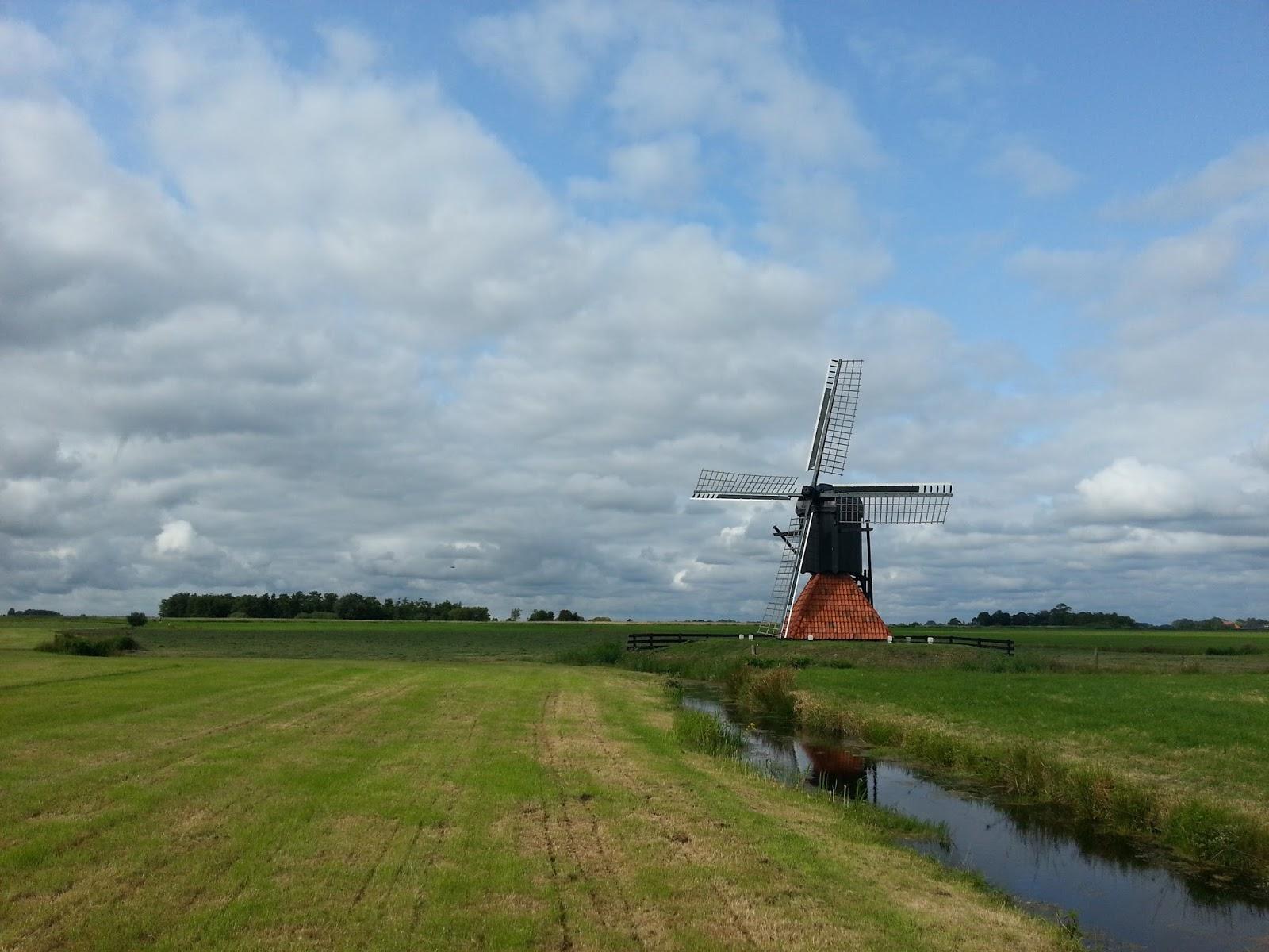 Friese Molendag: Geniet van het friese landschap...