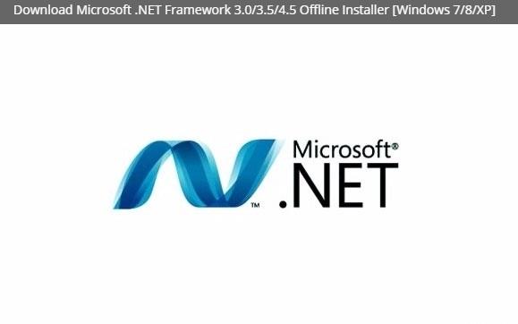 Download Microsoft .NET Framework Offline Installer