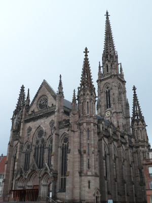 Mulhouse cathedral, France