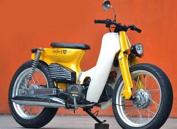terbaru modifikasi motor pitung