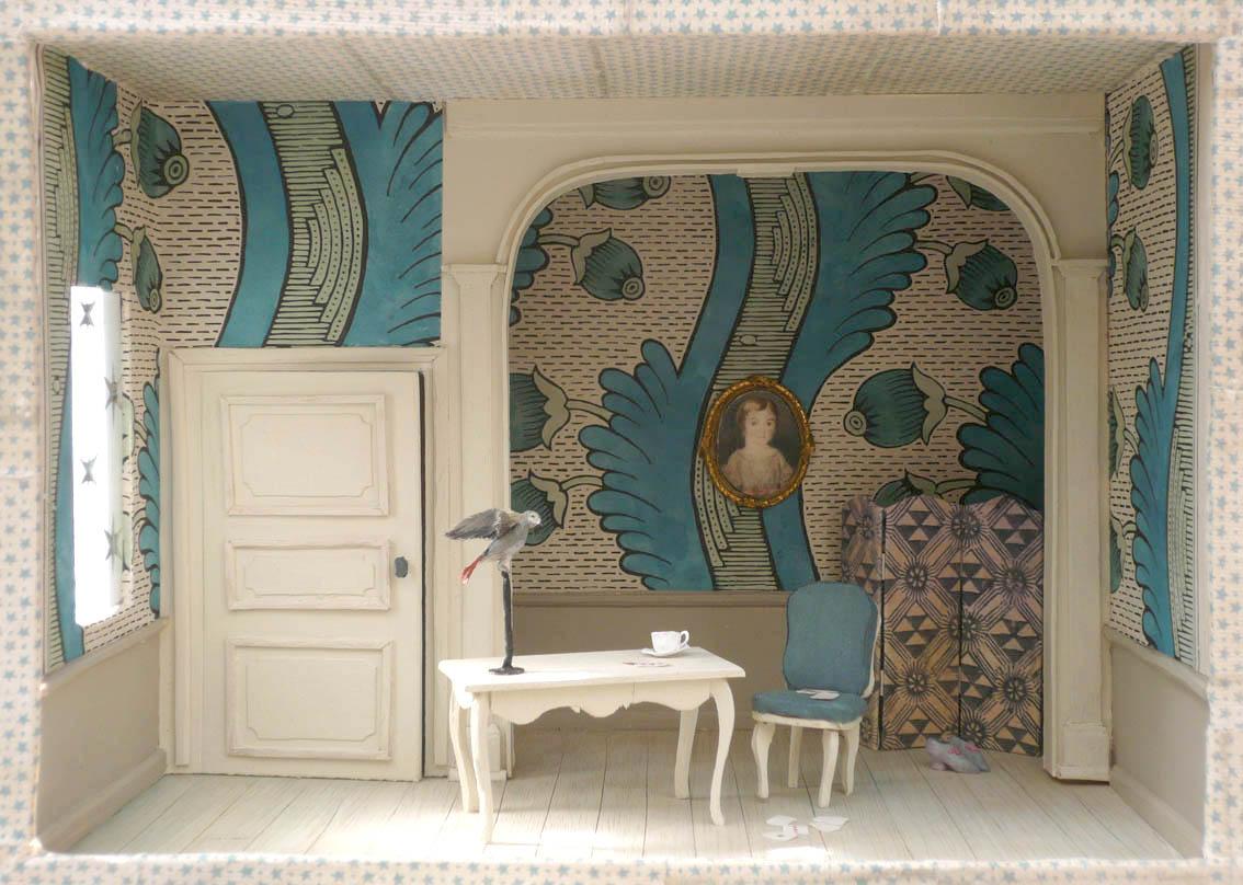 Paris chez antoinette poisson le papier dominot for Antoinette poisson