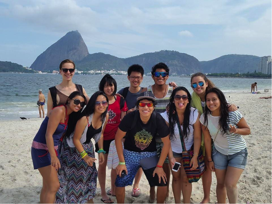 Travelling with this lovely bunch of friends @Rio de Janeiro