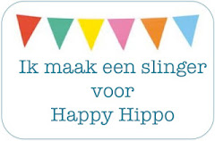 Ik maak een slinger voor Happy Hippo