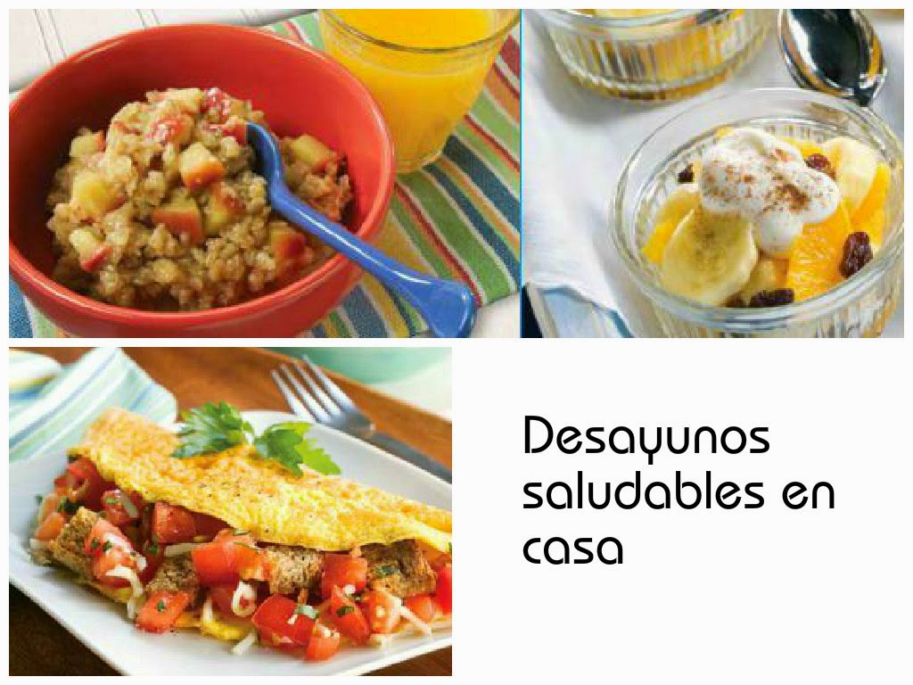 Recetas para desayunos saludables en casa cositasconmesh - Desayunos en casa ...