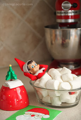 Elf on the Shelf Bubble Bath