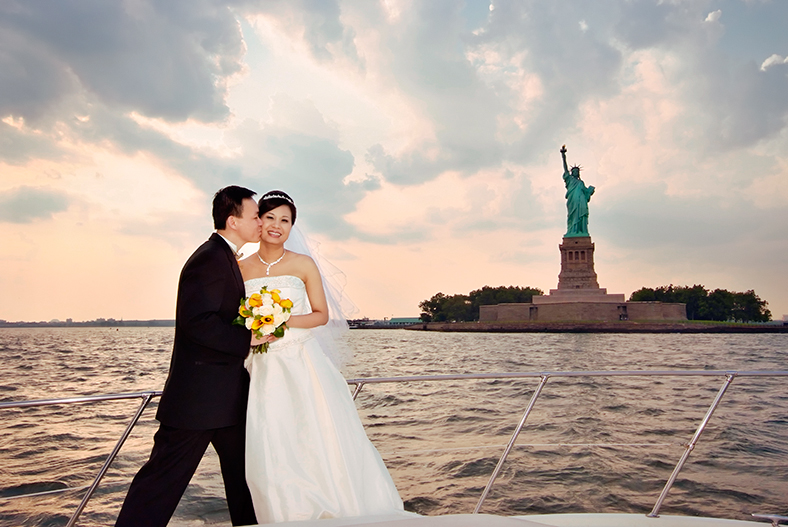 Statue of Liberty Wedding