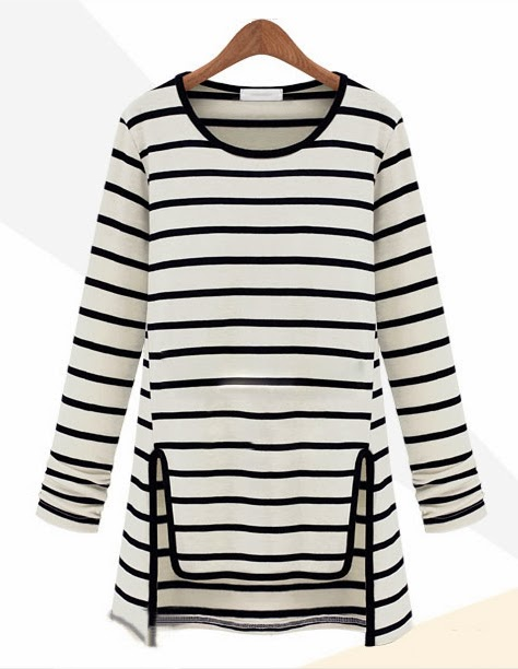 http://www.sheinside.com/Black-White-Long-Sleeve-Striped-Asymmetric-T-shirt-p-160078-cat-1738.html