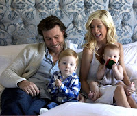 Dean McDermott and his family