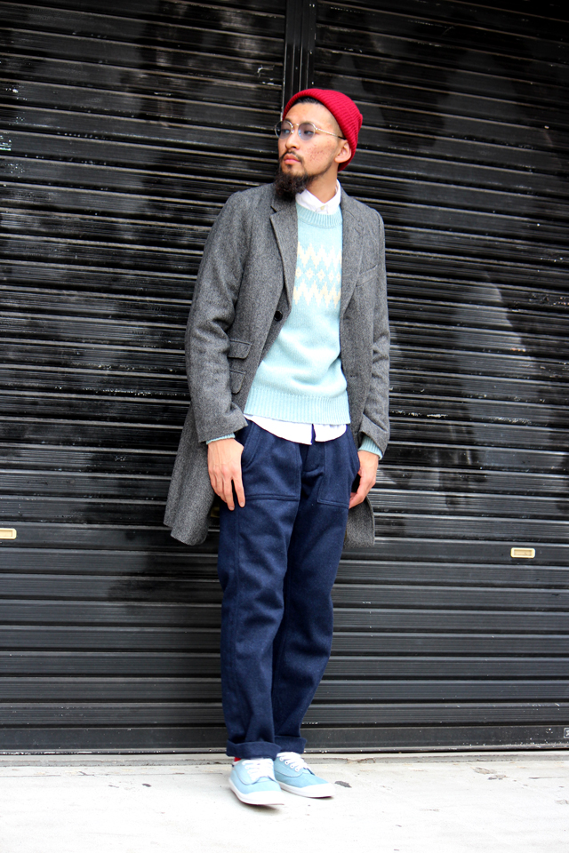 gantrugger 14fw ガントラガー R.The Herringbone Coat Jacket