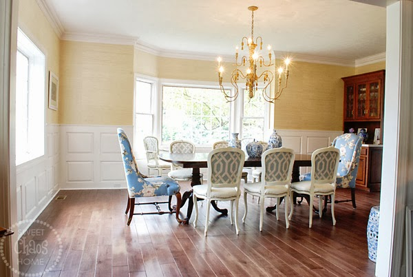 I Have Intended To Slipcovers Made For The Host And Hostess Chairs From Time Bought Them At A Consignment Store More Than Year Ago