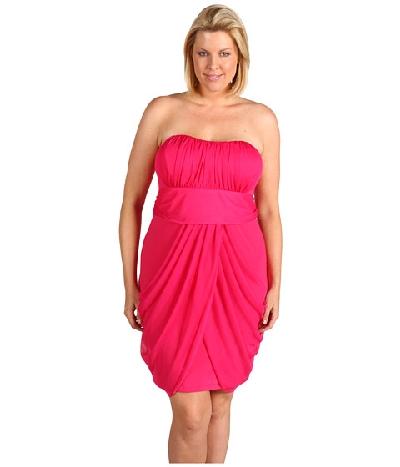 2012 büyük beden yazlık elbise modelleri