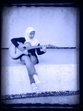 Alone with a guitar