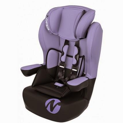 siège auto violet