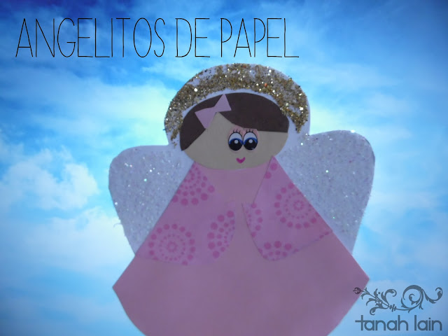 Angelito de papel