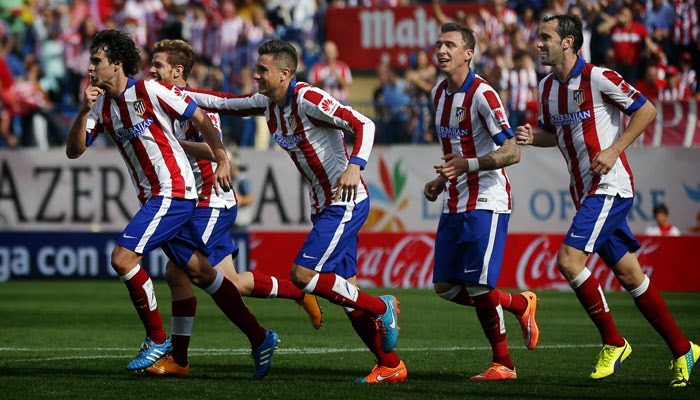 Atletico Madrid mean business, but are little more than interlopers