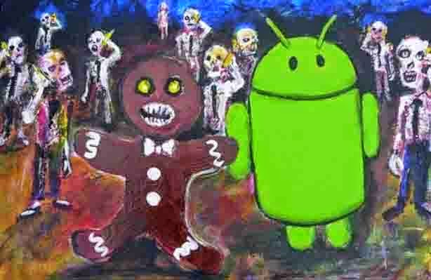 Android Gingerbread Easter Eggs
