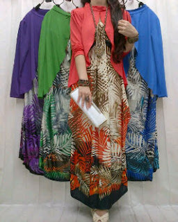 Jersey Flower fit to XL