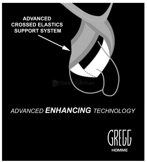 Advanced enhancing technology Gregg Homme underwear