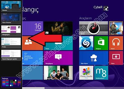 Windows 8 Uygulama Geçişi