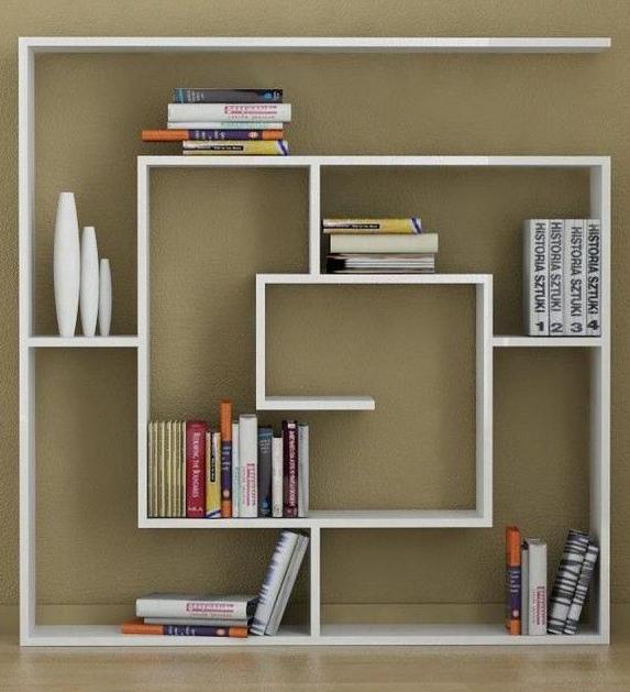 Decorative Bookshelves Ideas with Vases