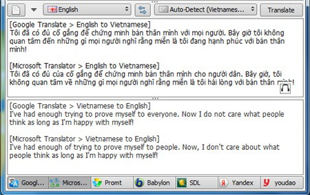 [Software] - QTranslate is a free translator support by many translation services 6