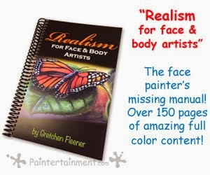 "NEW ""Realism For Face & Body Artists"" Book"