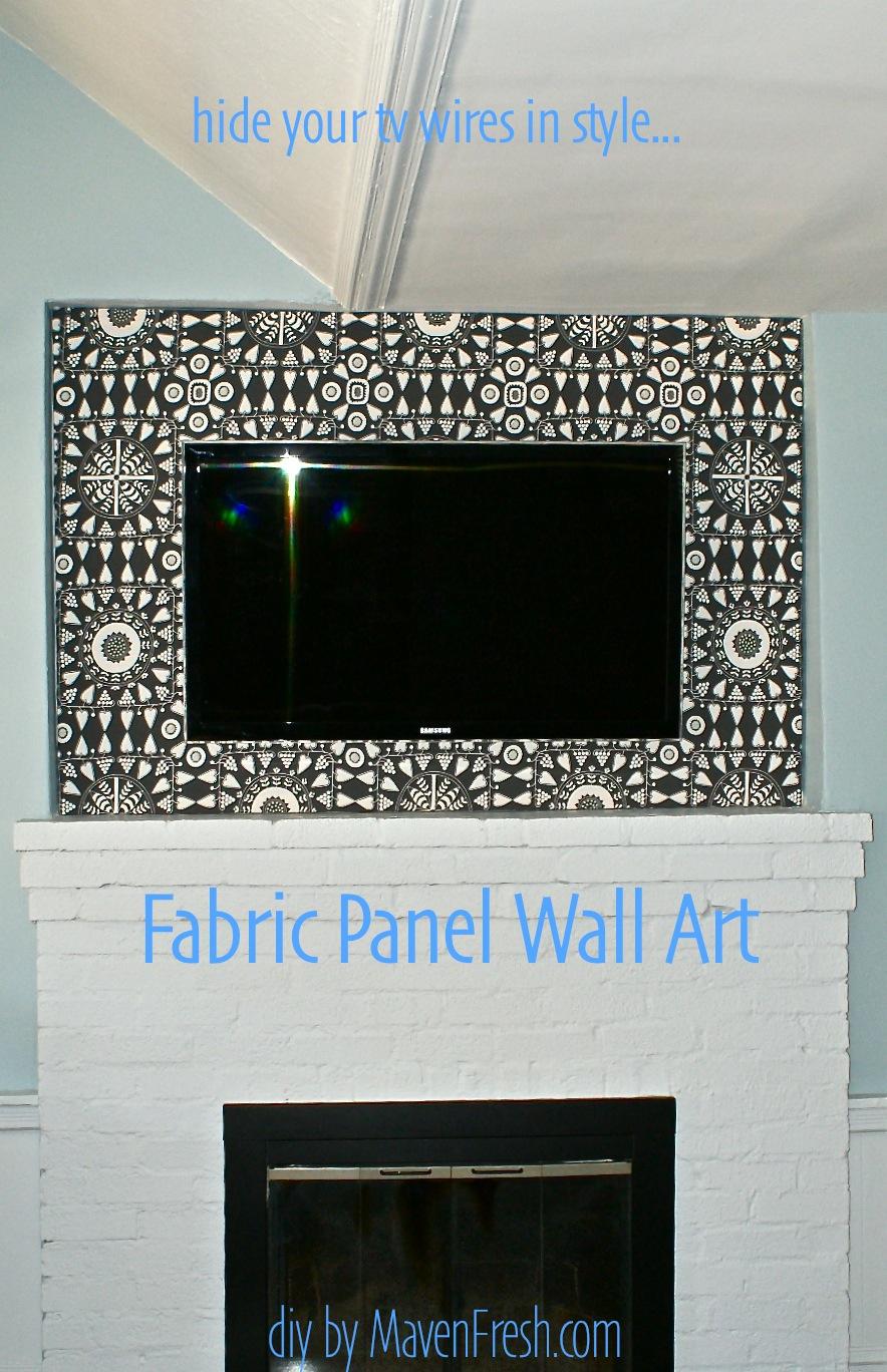 Its a MavenFresh World PFMs Do It Better DIY Wall ArtHow to