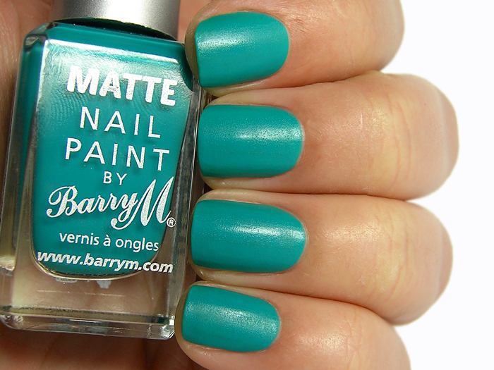 Barry M Matte Nail Paint Cancun