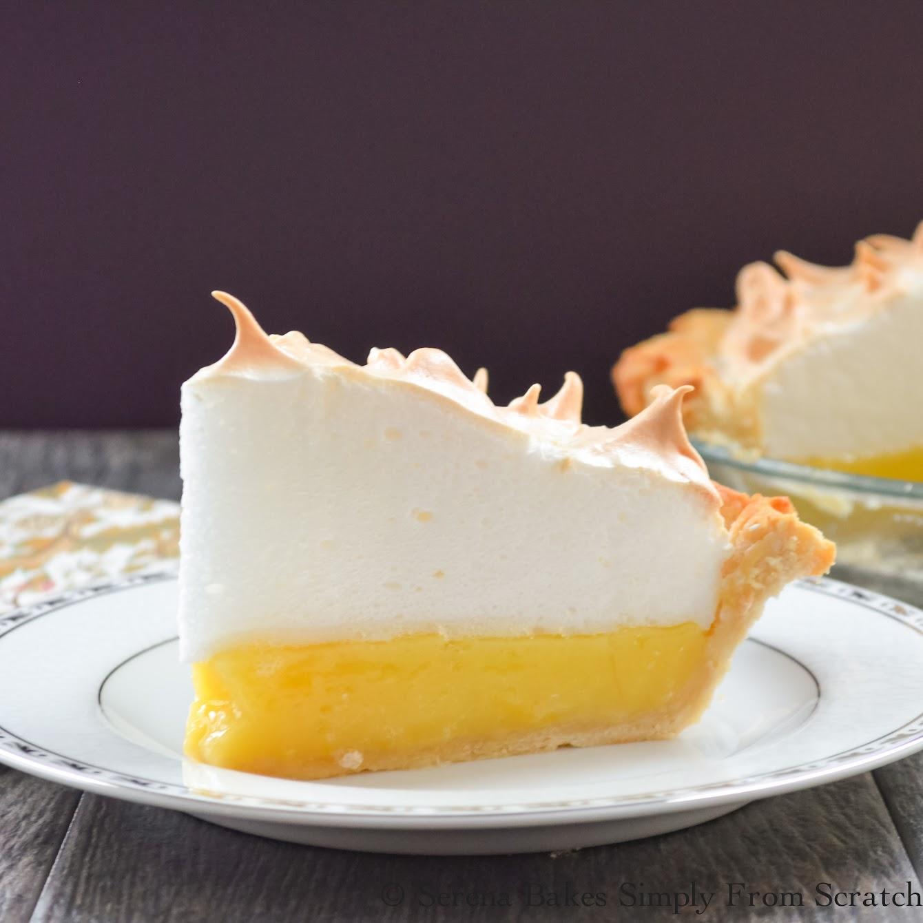Lemon Meringue Pie  #SundaySupper