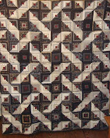 Log Cabin quilt