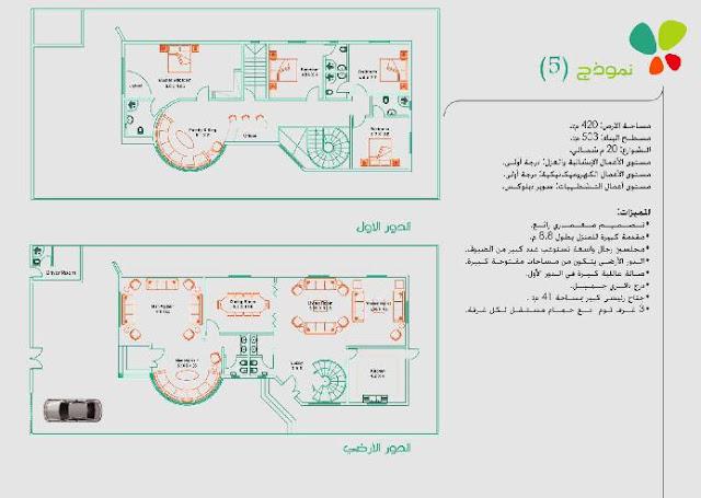 مخططات فلل الرياض تصاميم دايموند الرياض بلانات واجهة فيلا نماذج معمارية حديثة