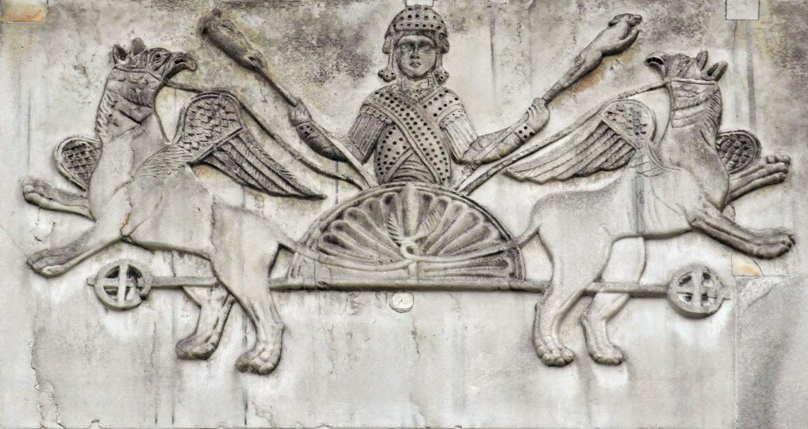 Bas-Relief of Alexander the Great, Basilica San Marco, Venice